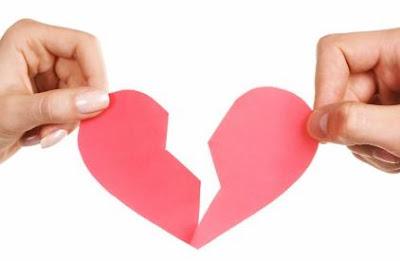 corazones de amor rotos se acabo el amor