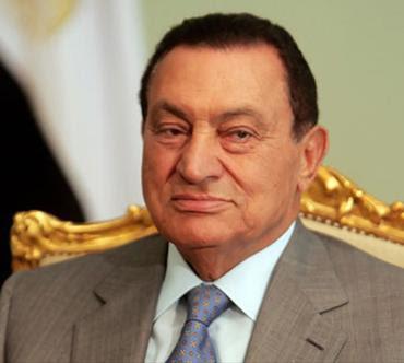 hosni mubarak presidente de egipto
