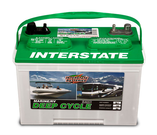 Interstate Batteries Marine Battery Deep Cycle | Autos Post