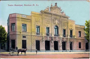 Antiguo Teatro Municipal, esquina suroeste de Plaza San Martín.