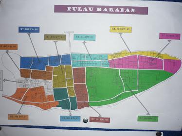 Peta Kelurahan P. Harapan