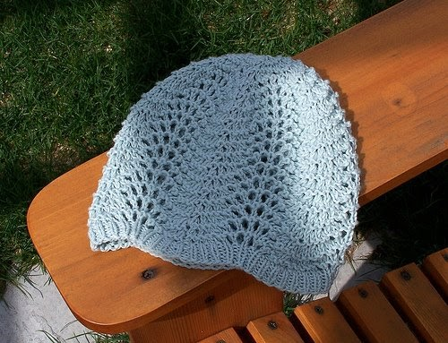 Our Quiet Place A Lacy Snood
