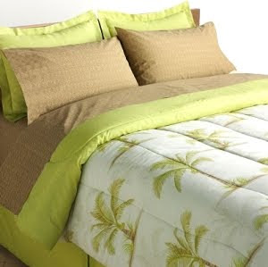 Palm Trees Bed Set
