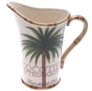 Palm Design Pitcher