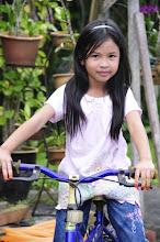 kak sarinah's daughter with barbie dress