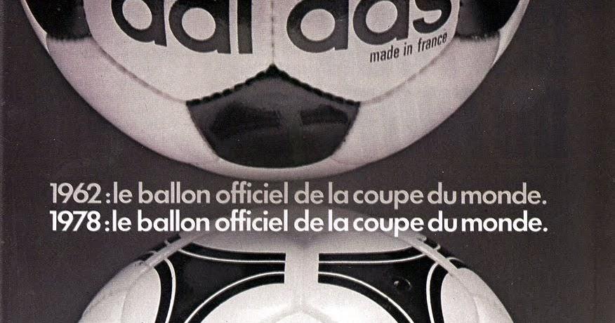 Pub adidas tango 1978 the vintage football club - Finale coupe du monde 1978 ...