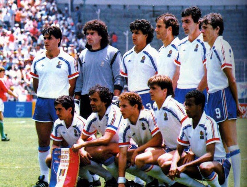 France hongrie 1986 coupe du monde the vintage - Ballon coupe du monde 1986 ...