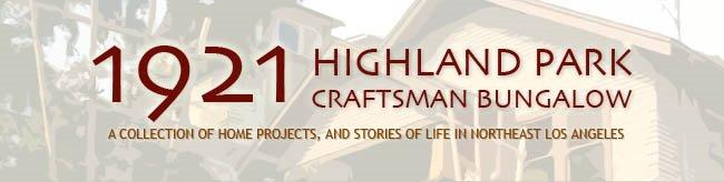 1921 Highland Park Craftsman Bungalow