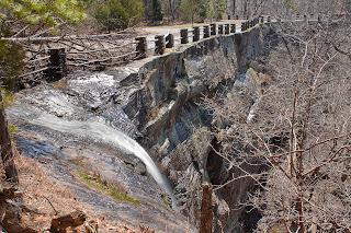 Photograph of Kings Bluff Falls