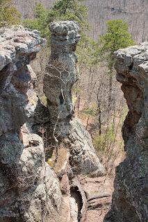 Photograph of Pedestal Rocks