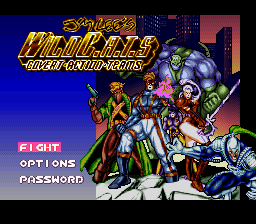 Jim Lee's WildC.A.Ts - Clássico para Super Nintendo
