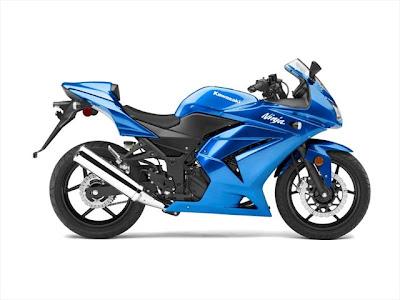 kawasaki ninja 250r blue edition