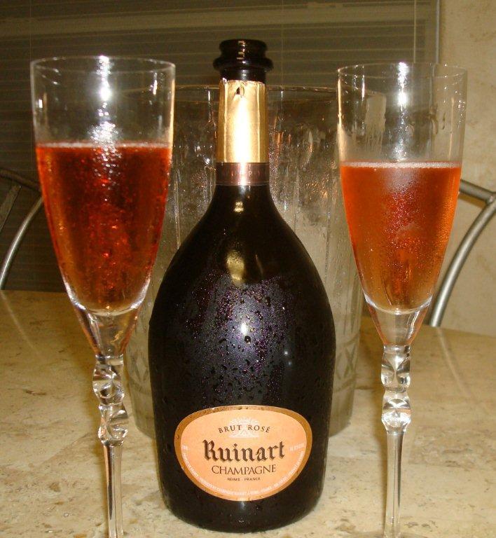 champagne ruinart brut rose