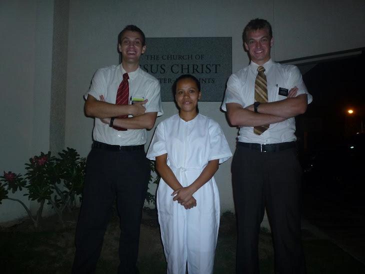 Sheryl's Baptism