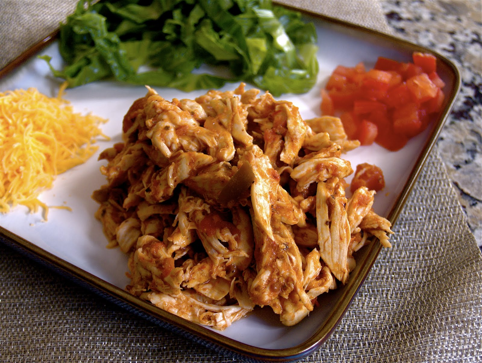 Stephanie Cooks: Shredded Mexican Chicken