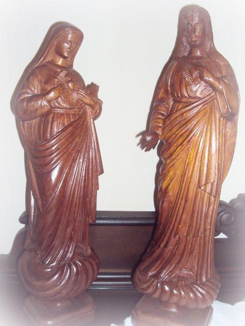 Sagrado Coração de Maria e Sagrado Coração de Jesus