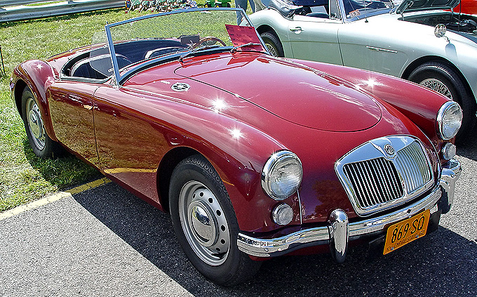 Picture of classic model MG-MGA, Exotic car MG-MGA, luxury MG
