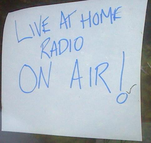 Live At Home Radio!