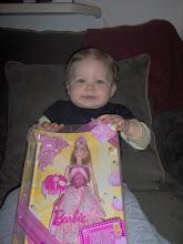 Lilys 1st Barbie!