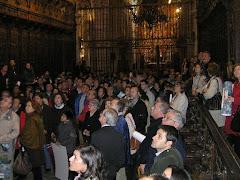 Así fue la visita a la catedral