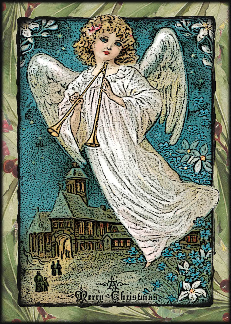Here is a little altered angel