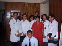 El Equipo del Laboratorio de Criminalística de la PNP- Arequipa.