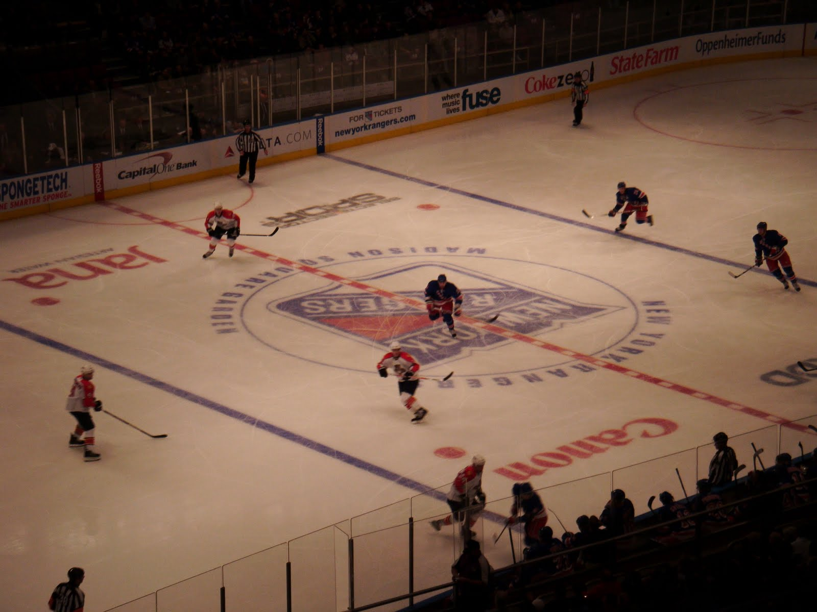 My Football Travels: Madison Square Garden (Florida Panthers at New ...