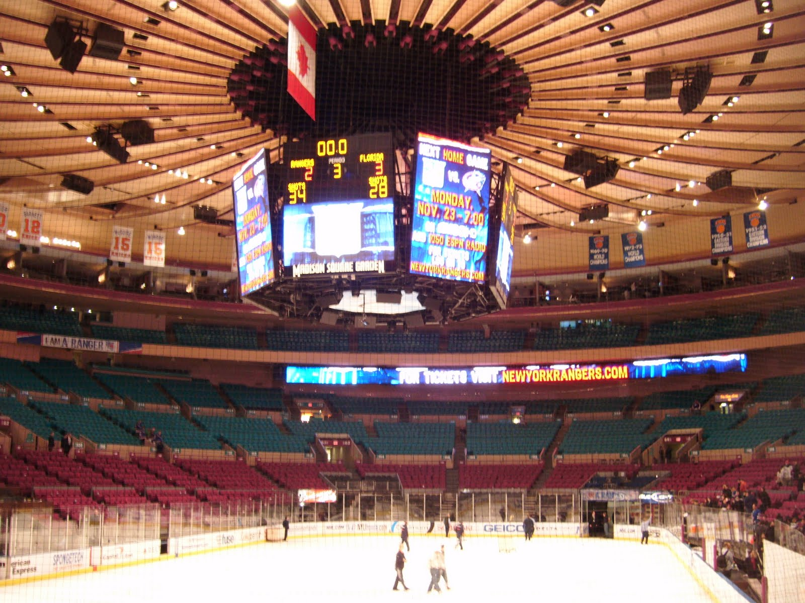 Madison Square Garden Florida Panthers At New York Rangers Couples The Football Stadium