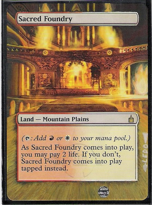 Sacred Foundry by Ledo