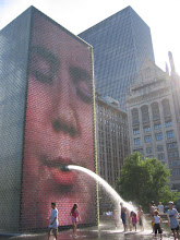 "Jaume Plensa's ""Crown Fountain"" in Chicago (2004)"