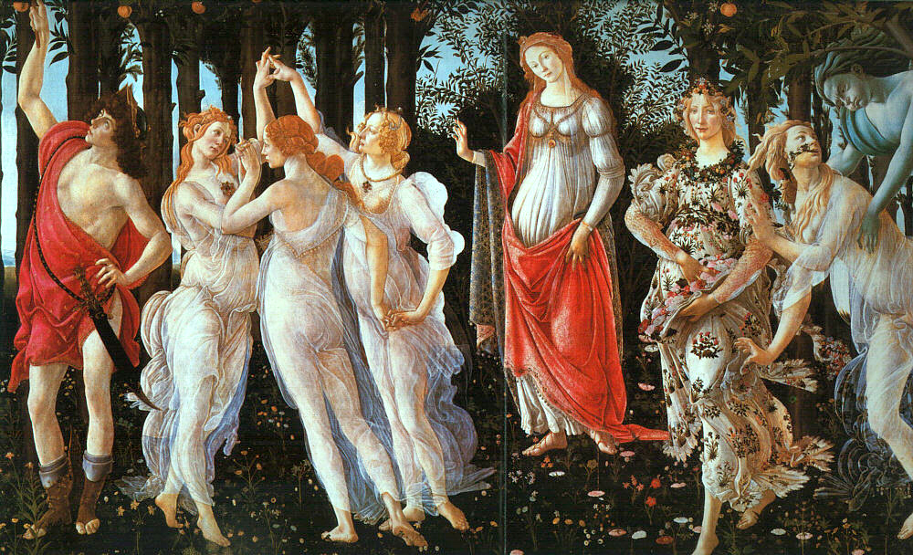 Painting: Sandro Botticelli.