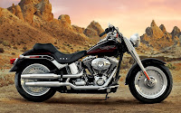 free motorcycle wallpaper FLSTF harley Fat Boy harley fatboy harley davidson pictures