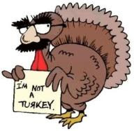 Turkey Cartoon Thanksgiving