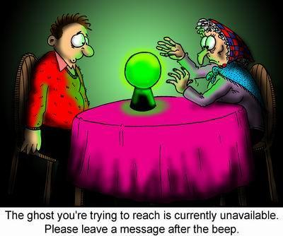 Calling The Ghost