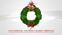 Blessed Christmas Bells wallpaper