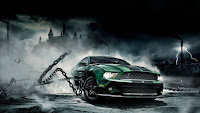 Mustang PSP Game Wallpaper
