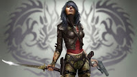 PSP Game Wallpaper Female Warrior