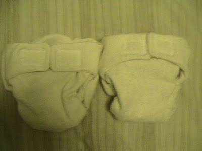 Fitted diapers made from hemp