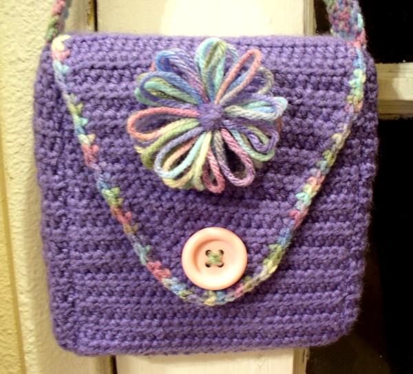 Snap Loom Knit Handbag Patterns Loom Knit Purse Loom Knit Tote