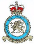 BADGE AND MOTTO OF THE RAF POLICE