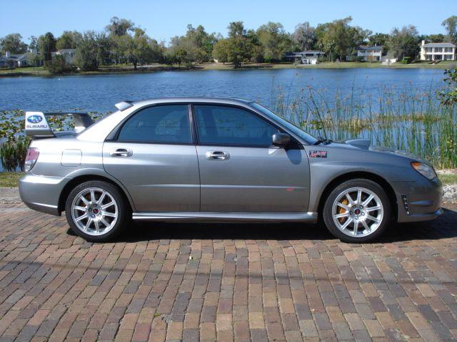 Winter Park Sales Sold 2007 Subaru Impreza Wrx Sti Sedan Awd