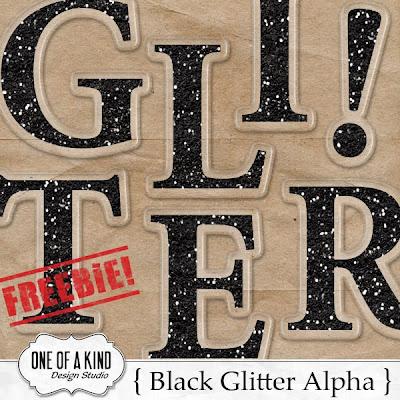 http://oneofakindds.blogspot.com/2009/10/black-glitter-acrylic-alpha-freebie.html