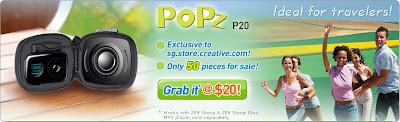PoPz P20: Zen Stone Plus Speaker