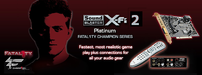 Creative Sound Blaster X-Fi 2 Coming?