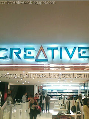 Creative Store Plaza Singapura Creative Store Plaza Singapura
