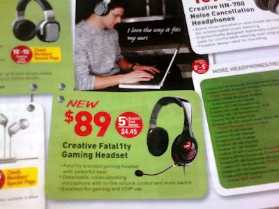 Fata1ty Headset