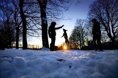 Snow Hyde Park Leeds