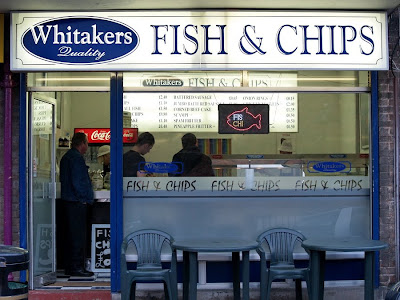 Traditional Fish and Chips Whitakers Shipley