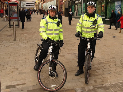 Bike Bicycle PCSO Leeds Albion Place