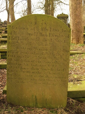 Haworth Headstone